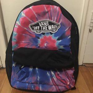 Vans tie dye book bag, backpack